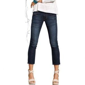 """[Cabi] Style #5086 Dark Wash """"New Crop"""" Jeans"""